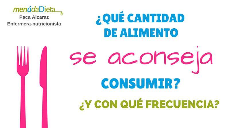 PORCIONES Y FRECUENCIA DE ALIMENTOS Compressor