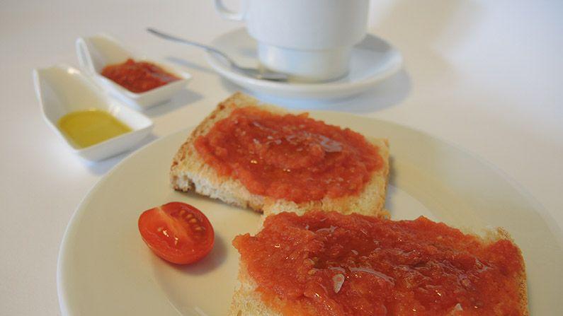 Cafe Con Leche Pan Con Tomate Compressor